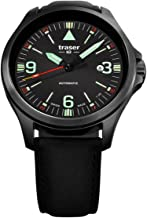 Traser Men's P67 Officer Pro Automatic Black Dial Watch 108075