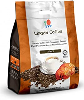 DXN Lingzhi 3 in 1 Coffee Ganoderma 20 Sachets ( 3 Pack )