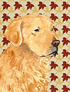 golden retriever house flags