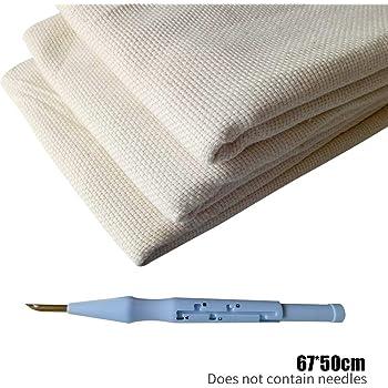 Almabner - Tela de bordado para tejer con monjes, mezcla de ...
