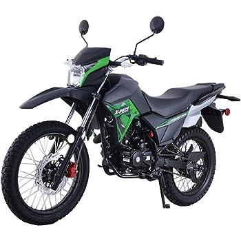 Lifan X-Pect EFI 200cc Motorcycle Bike Adult Dirt Bike 200cc 14hp Enduro Street Bike Dirt Bikes Fuel Injection Fully Assembled,Green