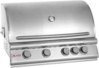 Blaze Grills 32-Inch Built-In 4-Burner Propane Gas Grill with Heat Zone Separators and..