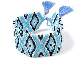 Initial Bracelet 2019 Fashion Geometric Bracelet Men Friendship Bracelet Women Handwork Jewelry Gifts