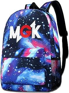Galaxy Printed Shoulders Bag Machine Gun Kelly MGK Fashion Casual Star Sky Backpack For Boys&girls