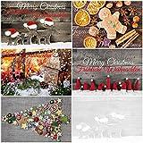 50 Weihnachtskarten'NOSTALGIE II': 50-er Postkarten-Set (5 Motive x 10 St....