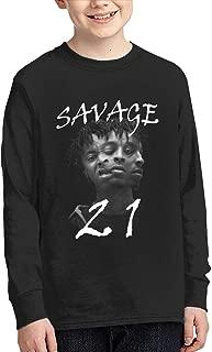 Darkt 21 Savage 666 Head Kid's Hoodies Youth Sweatshirts