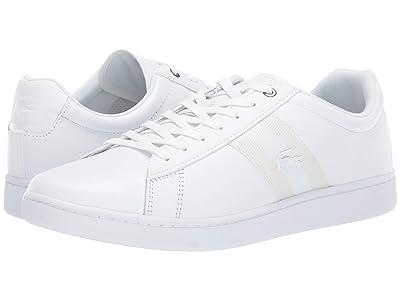 Lacoste Carnaby Evo 119 5 SMA (White/White) Men