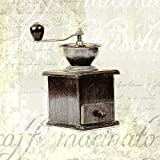 Feeling at home Lienzo-con-AMERICANO-CAJA-Cocina-Ayuda-I-Venter-Tandi-Cocina-Fine-Art-impresión-sobre madera-marco-Cuadrado-22x22_in