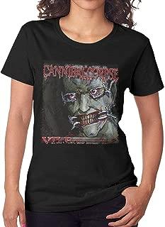 Women's Cannibal Corpse Vile Short Sleeve T-Shirt Black