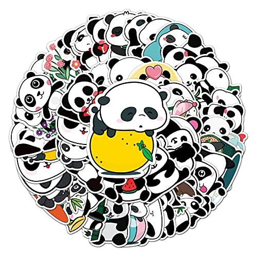JZLMF 50 Panda Graffiti Adesivi Cartoon Cute Animal Bambini Adesivi Skateboard Water Cup Valigia Adesivi