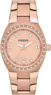 Fossil Women's Am4508 Serena Tone Stainless Steel Watch