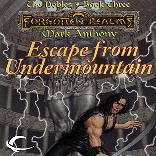 Escape from Undermountain cover art
