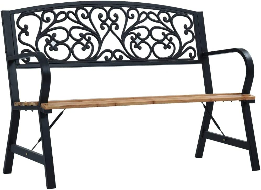 Cheap mail order shopping Unfade Memory Garden Manufacturer direct delivery Bench Outdoor Wood f Patio Benches Loveseat