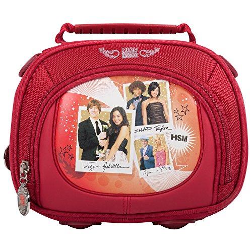 Disney - Bolsa multiusos (bolsillo frontal con cremallera), diseño High School Musical