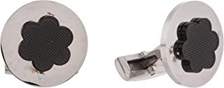 Diamond Moon Stainless Steel Cufflinks for Men, Stainless Steel - 1800541240416