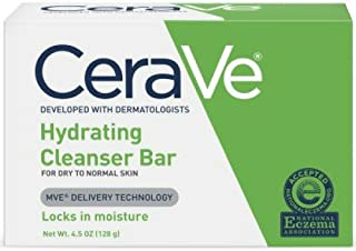 CeraVe Hydrating Cleansing Bar 4.5 oz (Pack of 6)
