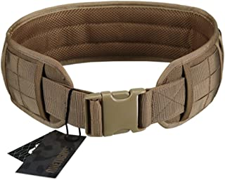 OneTigris Padded Patrol Belt Dual-use MOLLE Belt with Mesh Lining for Shooting Airsoft Wargame Paintball Hunting