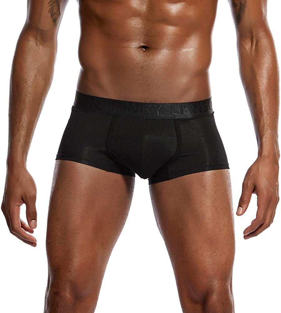 Super Breathable Ice Silk Sexy Men Underwear Fast Drying Briefs Low Rise Trunks