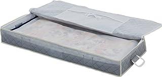 アストロ 浴衣・着物収納ケース グレー 不織布 小物入れ付き 防虫剤ポケット付き 179-05