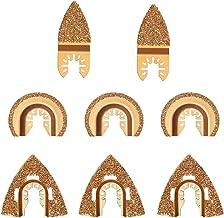 Deesen 8 Stks Carbide Oscillerende Tool Zaagbladen voor Snelle Verandering Multi-Tools Cement Keramiek Snijaccessoires