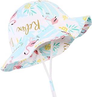 Baby Sun Hat Summer Beach Sun Protection UPF 50+ Baby Girl Hats For Toddler Boy Kid Bucket Hat