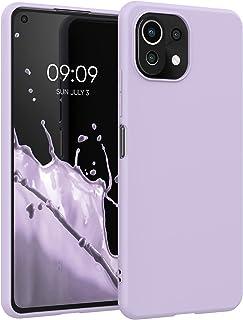 kwmobile telefoonhoesje compatibel met Xiaomi Mi 11 Lite (5G) - Hoesje voor smartphone - Back cover in lavendel