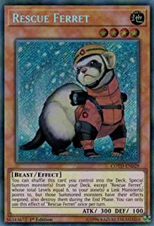 Yu-Gi-Oh! Rescue Ferret - COTD-EN029 - Secret Rare - Unlimited Edition - Code of The Duelist (Unlimited Edition)