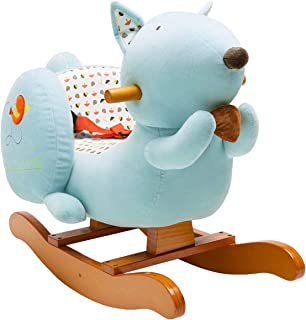 labebe - Baby Rocking Horse, Kids Ride on Toy, Wooden Riding Horse for 1-3 Years Old Boy&Girl, Toddler/Child Outdoor&Indoo...