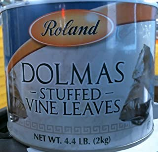 Roland Dolmas – Stuffed Vine Leaves, 70 Ounce (Pack of 2)