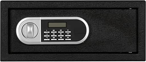 TOPNIU Home Use Password Steel Plate Safe Box 16.93X14.57X7.09