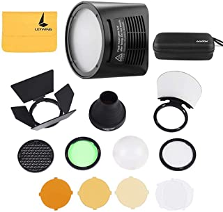 Godox H200R Ring Flash Head for Godox AD200 and Godox AD200Pro Pocket Flash Light,Godox AK-R1 Accessories Kit for Godox H200R Round Flash Head