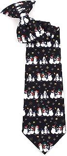 Snowman Boys Christmas Tie