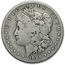1886 S Morgan Dollar $1 Very Good