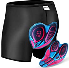 Oleein 3D gewatteerde Fietsen Shorts Mannen & Vrouwen Fiets Ondergoed Bike Shorts met Anti-Slip Design, Ademend, Lichtgewicht