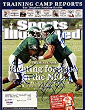 Hank Fraley Jamaal Jackson and Broderick Bradley Signed Sports Illustrated Magazine Philadelphia Eagles - PSA/DNA Authentication - Autographed NFL Football Memorabilia