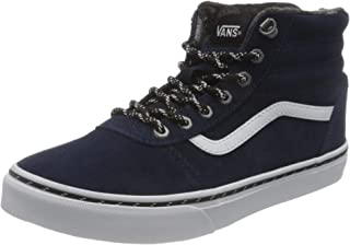 Vans Unisex Kid's Ward Hi Suede Sneaker