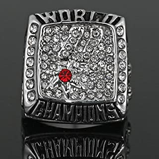 AJZYX NBA 2003 Spurs Championship Replica Ring Collectible Gift for Fans Without Display Box Size 11