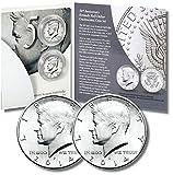 2014 P&D 50th Anniversary Kennedy Half-Dollar 2 Coin Uncirculated Set