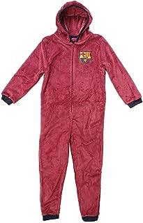 Get Wivvit Boys WEST HAM United Football Fleece Hooded Sleepsuit Onesie Romper Sizes from 3 to 6 Years