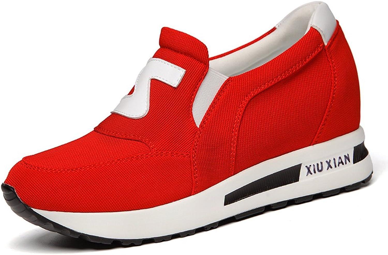 Minkun Sports shoes Pumps shoes Casual Women's shoes Fashion Elegant shoes Breathable Comfortable shoes