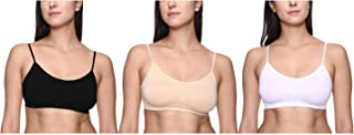 TRASA Sports Bra, Air Bra, Stretchable Thin Lace Non-Padded and Non-Wired Bra for Women and Girls, Free Size (Size 28 to 3...