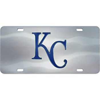 Rico Industries Tampa Bay Rays Light Blue Premium Laser Cut Acrylic Inlaid License Plate Mirrored Tag Baseball