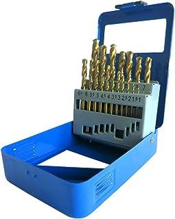 Bois Et Plastic Fonte Aluminium Cuivre Coffret De 10 x 3.5mm HSS Cobalt Jobber Forets Pour Aciers Inoxydables M/étal