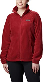Columbia Women's Benton Springs Full Zip Jacket, Soft Fleece with Classic Fit