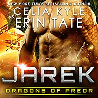 Jarek     Dragons of Preor, Book 1              By:                                                                                                                                 Celia Kyle                               Narrated by:                                                                                                                                 Todd Mrozek,                                                                                        Mandy Lane                      Length: 4 hrs and 34 mins     542 ratings     Overall 4.3