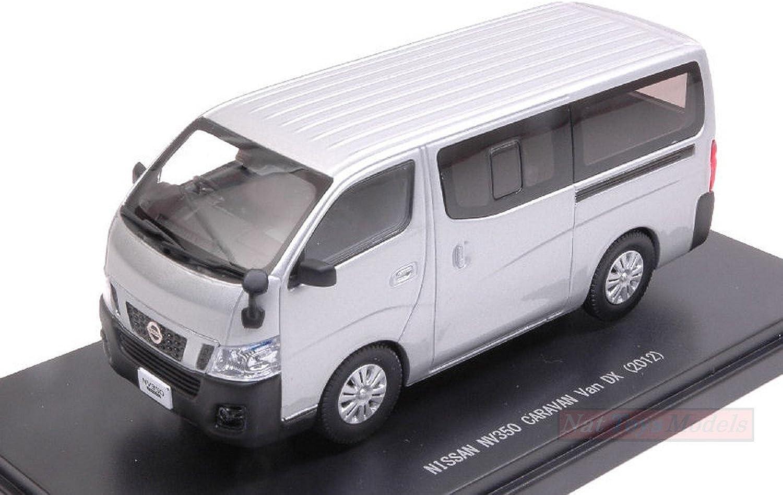 grandes precios de descuento Ebbro EB45595 Nissan Nissan Nissan NV350 Cocheavan Van DX 2012 plata 1 43 MODELLINO Die Cast Compatible con  mejor servicio