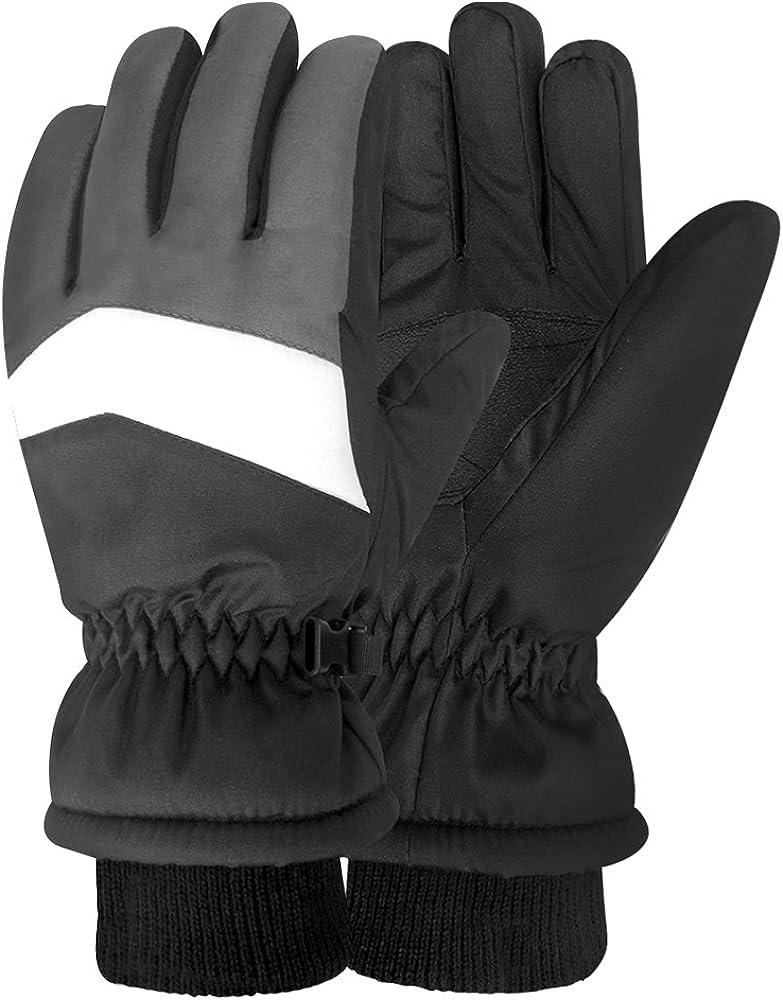 Igloos Boys Taslon Ski Gloves