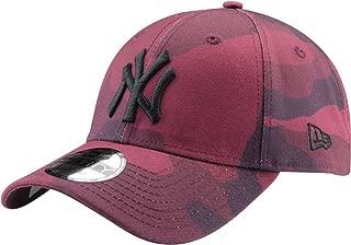 New Era Gorra b/éisbol 9FORTY MLB Camo Essential NY Yankees Camuflaje-Naranja