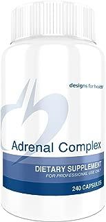 Designs for Health - Adrenal Complex, 240 Vegetarian Capsules