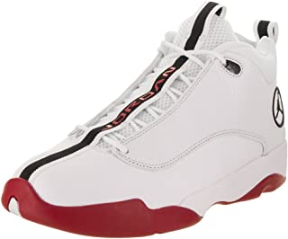 Jordan Jumpman Pro Quick White/Black/Gym Red Basketball Shoe (10 US)